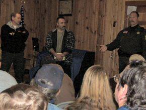 Deputies Speak To Neighborhood Watch