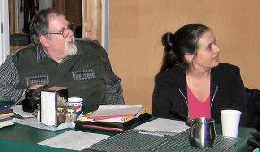 Bob Schmalzbach and Cheryl Wainwright