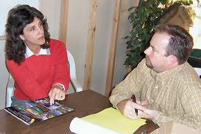 Karen Whitaker and James Buchner