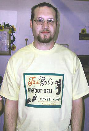 Kevin's new t-shirt