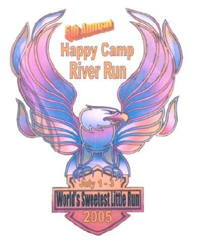 2005 Happy Camp River Run Motorcycle Rally Logo