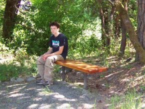 Birding Trail Benches Installed