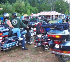 Happy Camp River Run Motorcycle Rally 2005