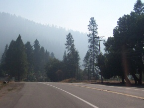 Smoke From the Wooley Fire