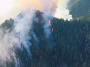 Wooley Fire Continues To Grow